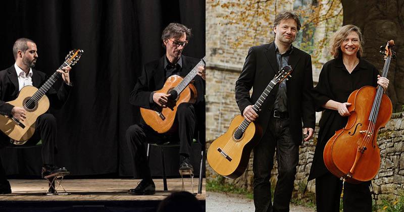 Klänge des Südens aus Italien, Spanien & Lateinamerika Duo di Siracusa (Italien) & Duo Casals