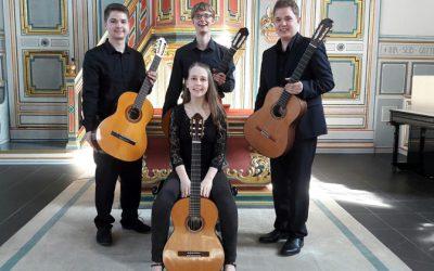 Gitarrenquartett Rheinsaiten: Das Beste Nachwuchs-Gitarrenquartett aus NRW