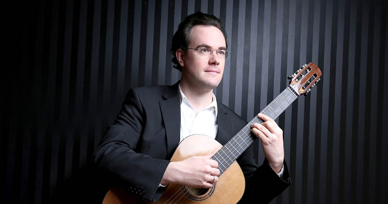 Mythologische Weltreise auf sechs Saiten:  Fabian Hinsche –Gitarre