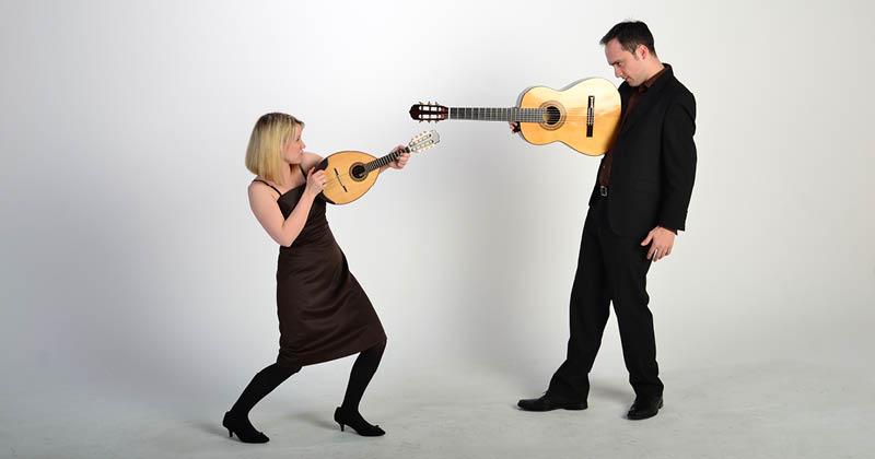 Klänge des Südens – Tango, Flamenco, Samba & Co. Duo Recuerda & Duo Loro